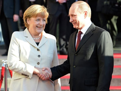 Photo: Merkel reminded Putin of 'great responsibility' in Ukraine / Other News
