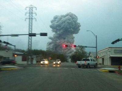 Photo: Eight injured in blast at mill in Kazakh Semei / Kazakhstan