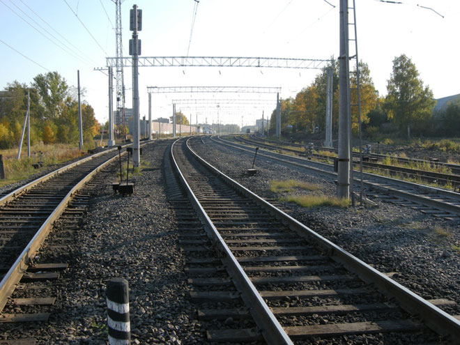 Photo: Baku-Tbilisi-Kars railway to be commissioned in mid-2015 / Economy news