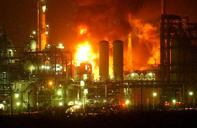Photo: Explosion at steel plant in Japan / Other News