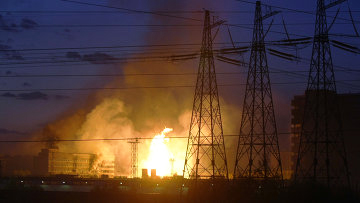 Photo: Explosion in plant in Tehran, one injured  / Other News
