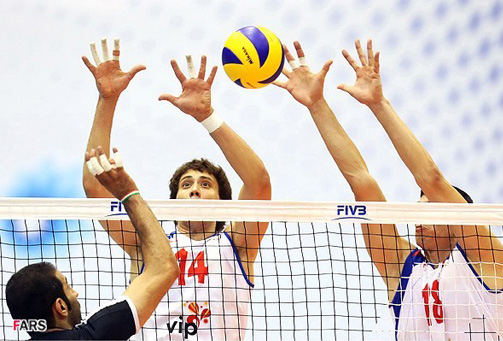 Photo: Iran's national volleyball team invited to play in US / Iran