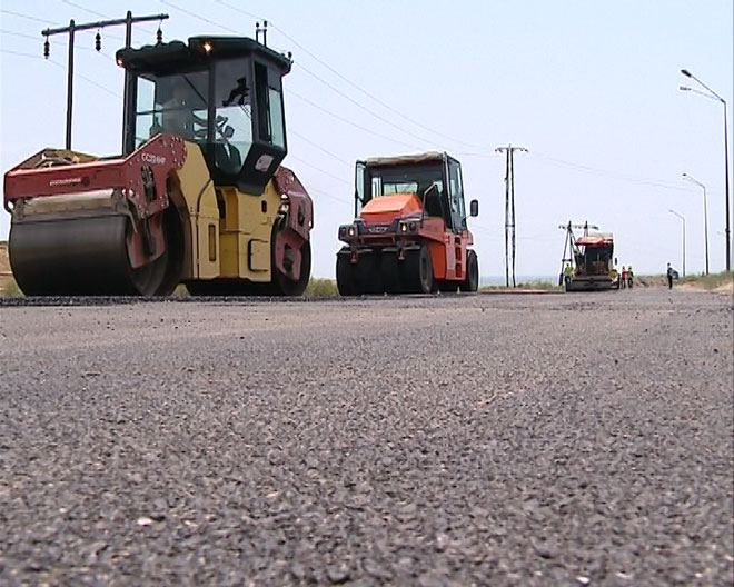 Photo: New stretch of road in Azerbaijani capital to be constructed by year end