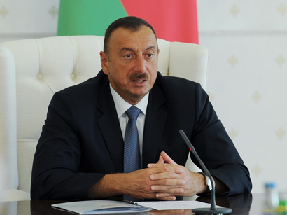 Photo: Aliyev says human rights situation in Azerbaijan is positive / Azerbaijan