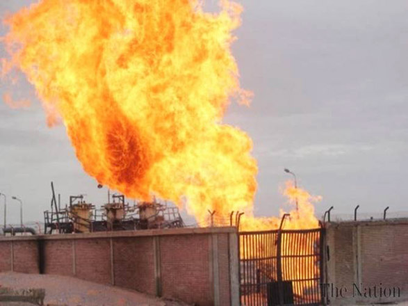 Photo: Militants blow up gas pipeline in Egypt's Sinai / Arab World