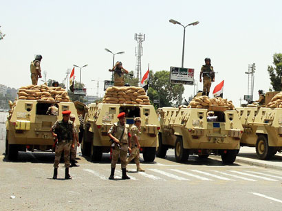Photo: Gunmen kill 21 Egyptian military border guards near Libya (UPDATE 2) / Arab World