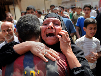 Photo: At least 27 killed in series of bombings in Baghdad / Arab World