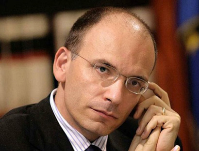 Photo: Italy PM Letta to tender resignation today / Other News