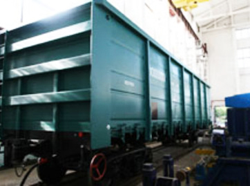 Photo: Uzbekistan completes reconstruction of rail-car building plant / Economy news