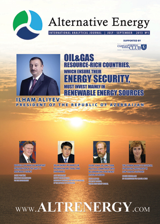 Photo: First issue of Alternative Energy magazine published / Oil&Gas