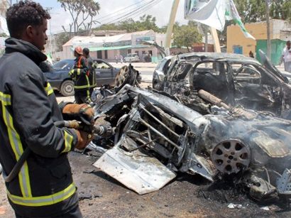 Photo: Car bomb explodes next to Somali capital airport / Other News