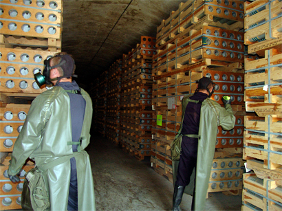 Photo: U.N.: Chemical weapons used in Syria appear to come from army stockpile / Arab World