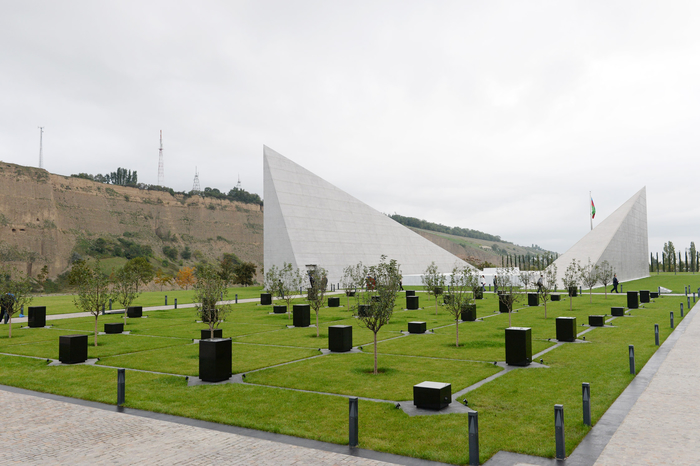 Photo: Obvious proof of Armenian vandalism is Quba Genocide Memorial Complex (VIDEO) / Politics