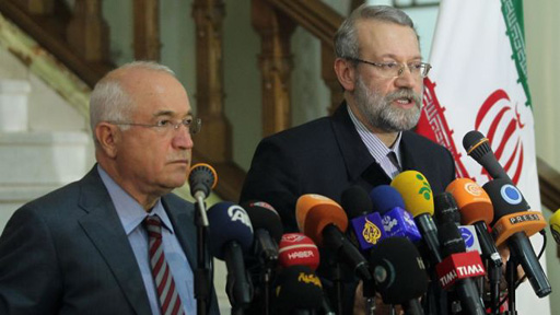 Photo: Iran, Turkey back democratic reforms in Syria: Larijani   / Iran