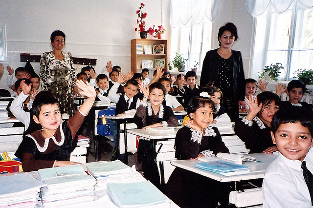 Photo: School year kicks off in Uzbekistan / Uzbekistan