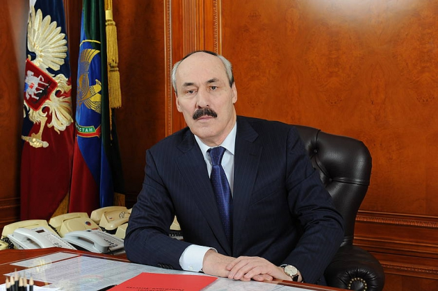 Photo: Head: Relations with Azerbaijan have special significance for Dagestan / Azerbaijan