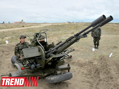 Photo: Azerbaijani air defence forces holding exercises
