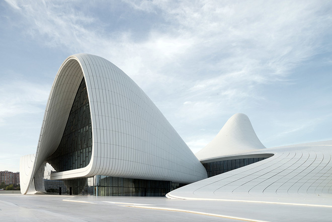 Photo: Zaha Hadid wins prestigious award for design of Heydar Aliyev Center