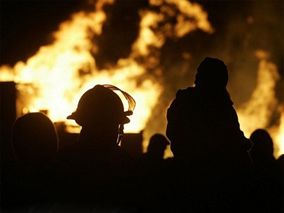 Photo: Fire leaves 11 dead at a jail in Iran / Iran