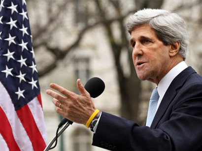 "Photo: Kerry: Iranian nuclear talks has ""real gaps"" on key issues"" / Iran"