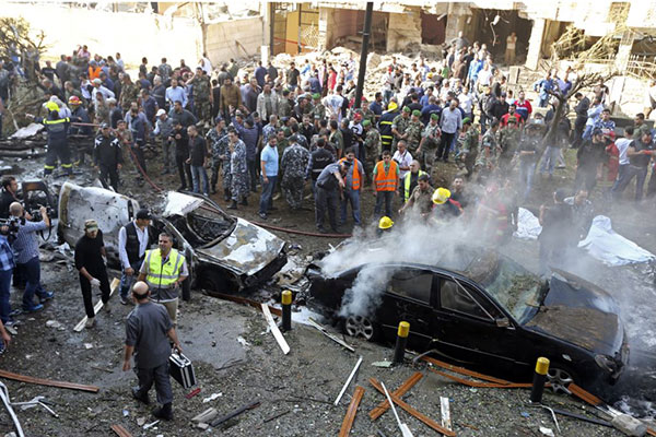 Photo: Blast heard in Beirut's southern suburbs / Arab World