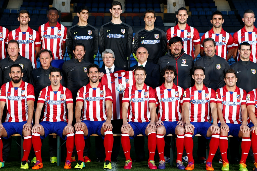 Photo: Azerbaijan extends sponsorship agreement with Spanish Atletico Madrid    