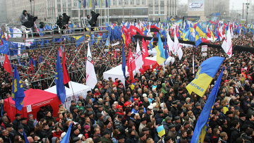 Photo: Revolution gains momentum in Ukraine / Politics