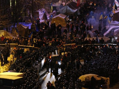 Photo: More than 230 protesters arrested in Ukraine / Other News