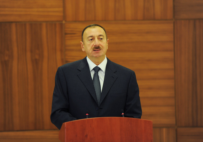 Photo: President Aliyev: Freedom of speech guaranteed in Azerbaijan