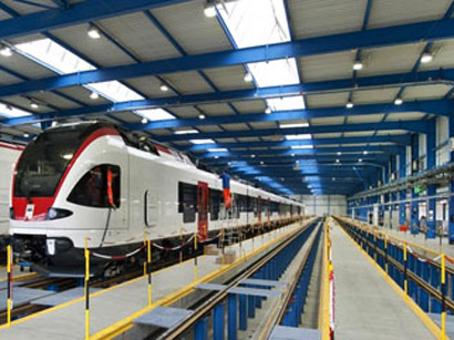 Photo: Azerbaijan to buy new railroad passenger cars produced by Swiss company Stadler / Economy news