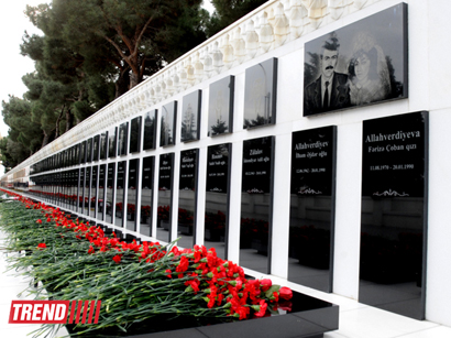 Photo: Azerbaijan commemorates 24th anniversary of 20th January tragedy / Society