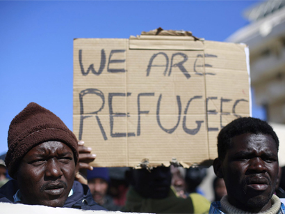 Photo: Thousands of African migrants protest in Israel / Israel