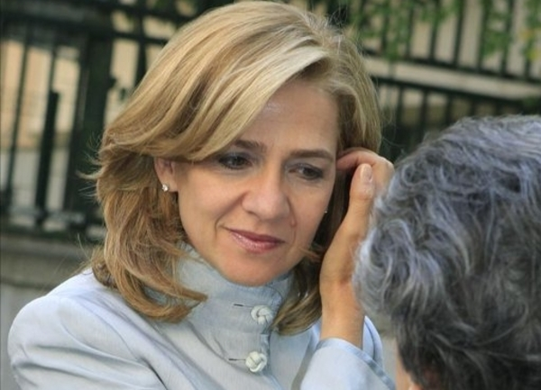 Photo: Spain's Princess Cristina charged with money laundering and fraud / Other News