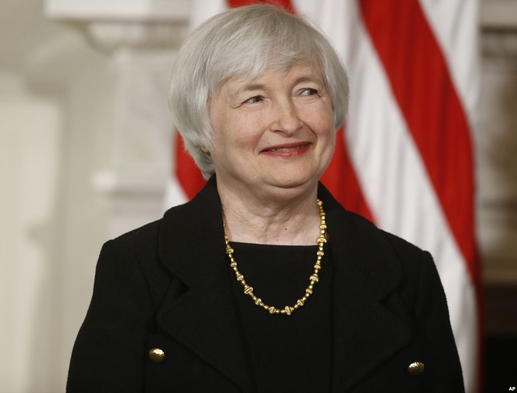 Photo: Yellen approved to lead US central bank / Economy news