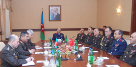 Photo: Azerbaijan, Turkey discuss military-technical cooperation