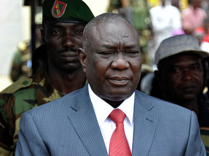 Photo: CAR interim president and prime minister resign / Other News