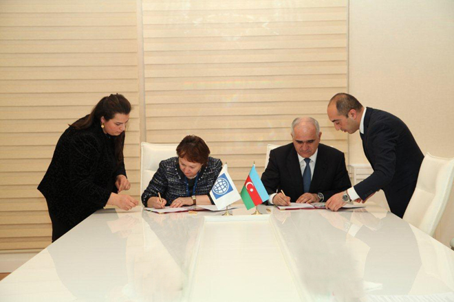 Photo: Azerbaijan, WB sign agreement on additional financing of waste management project / Economy news