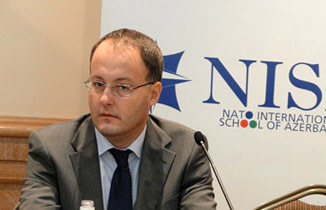 Photo: Romanian ambassador: Relations between Azerbaijan and NATO have strategic value / Politics