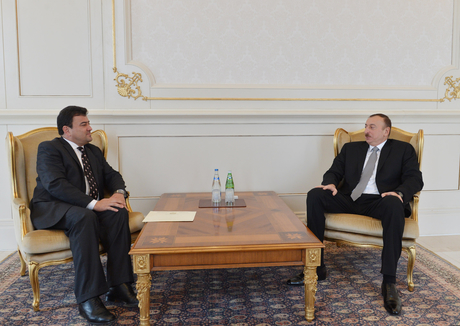 Photo: Azerbaijani president receives Afghan ambassador / Politics
