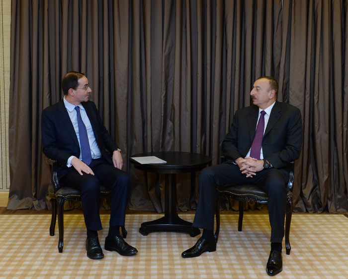 Photo: President Ilham Aliyev meets Holcim CEO / Politics