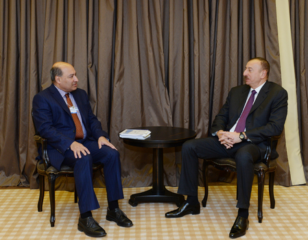 Photo: President Ilham Aliyev meets President of European Bank for Reconstruction and Development / Economy news
