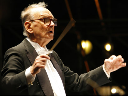 Photo: Legendary Maestro Ennio Morricone to delight Azerbaijani public by its concert  / Society