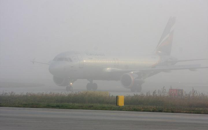 Photo: Tbilisi's heavy fog hinders air traffic / Georgia