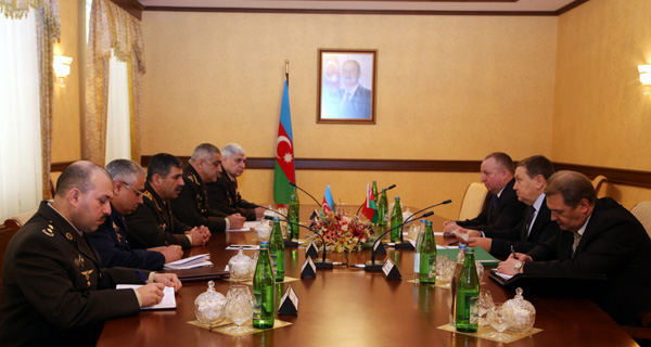 Photo: Azerbaijan, Belarus discuss cooperation in defense sphere / Nagorno-karabakh conflict