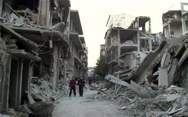 Photo: Syrian talks resume as Homs mission continues / Arab World
