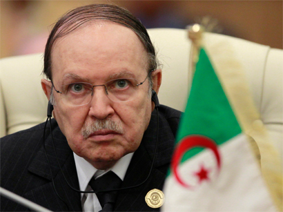 Photo: Bouteflika to vote in Algeria's presidential election / Arab World