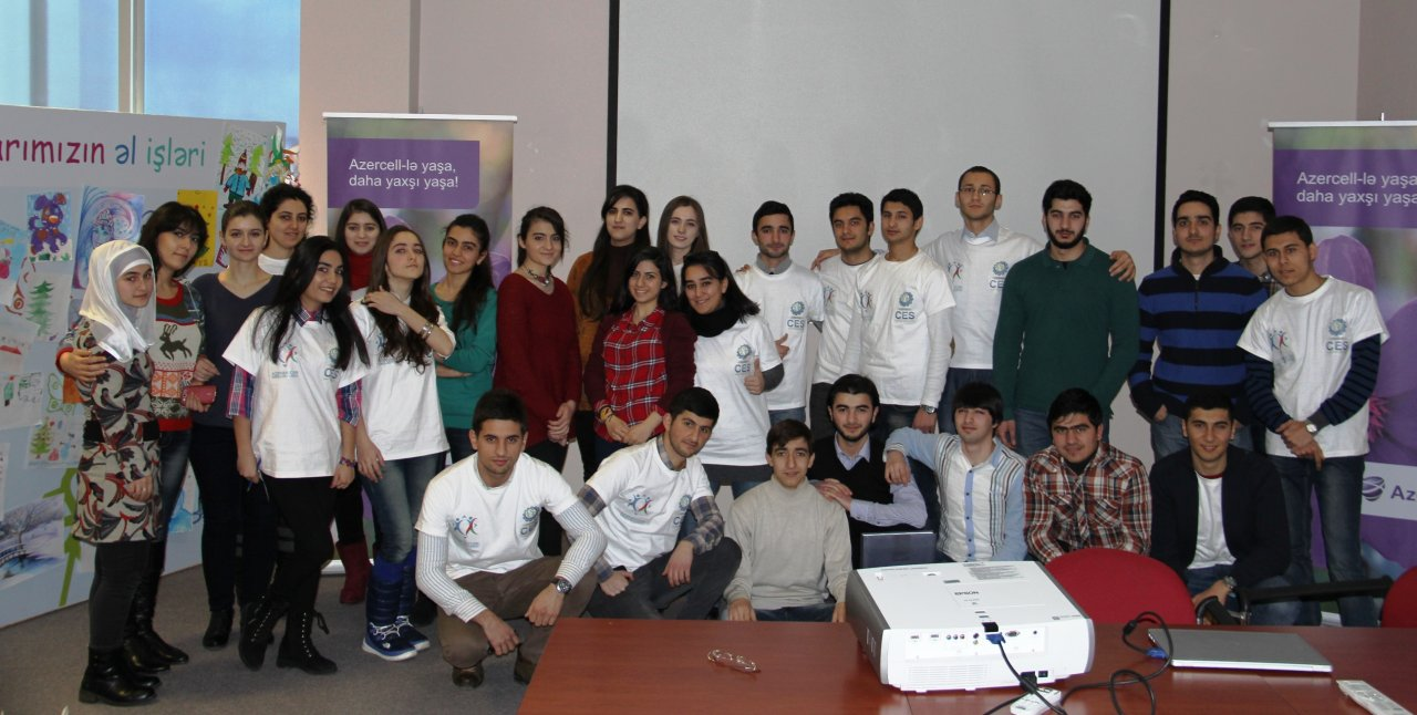 Photo: Azercell gathers future engineers together  / Azerbaijan