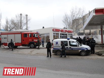 Photo: Criminal investigation launched into explosion at gas station in Baku
