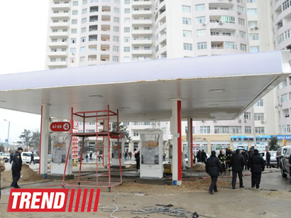 Photo: Explosion at gas station in Baku occurs due to violation of industrial safety rules / Oil&Gas
