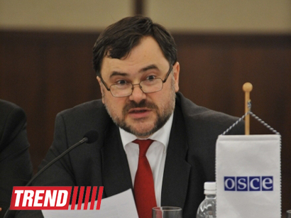 Photo: French diplomat appointed OSCE Project Co-ordinator in Baku / Politics